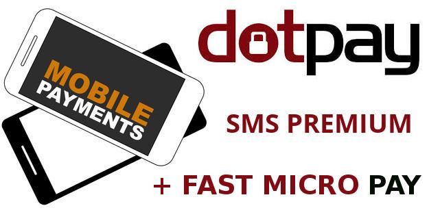 sms premium dotpay w systemie wordpress