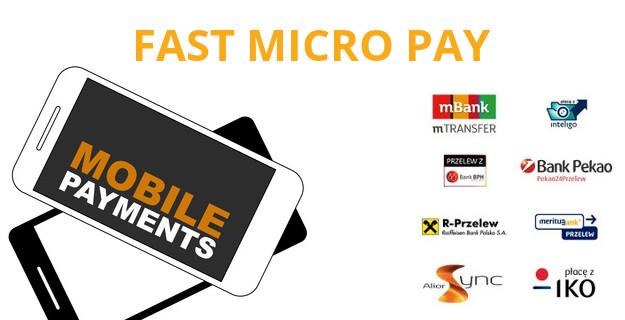 fast micro pay - płatny dostęp do treści